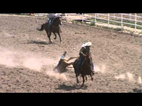 Cheyenne Frontier Days 2011 Steer Wrestling K.C. Jones