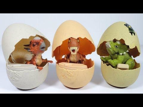 Con World Dinosaurios Jurassic Habilidades Huevos Baby Dino fyg76Yb