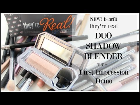 They're Real! Duo Shadow Blender (Provocative Plum)