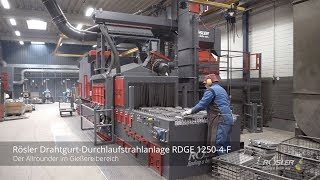 Rösler Drahtgurtstrahlanlage RDGE 1250-4-F