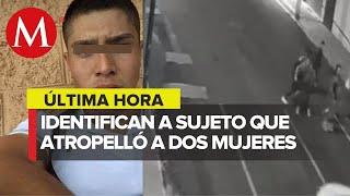El hombre que atropelló a dos jóvenes en Iztacalco presumía armas en redes sociales