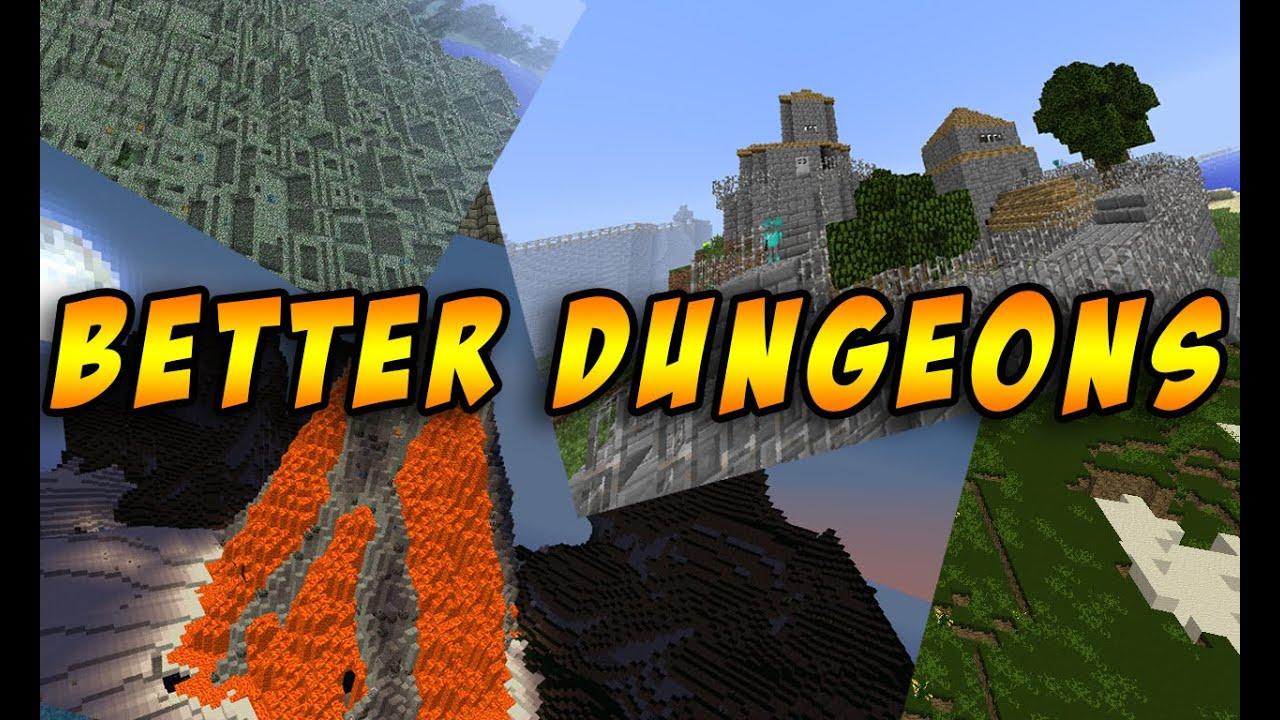 скачать моды на майнкрафт 1.7.10 на better dungeons #8