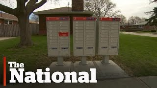 Canadians Fight Community Mailboxes On  Property