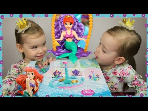 ДАРИМ набор РУСАЛОЧКА Ариэль Принцесса Диснея Кукла и Фонтан ИГРЫ ДЛЯ ДЕВОЧЕК Disney Princess Ariel