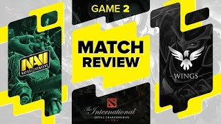 MATCH REVIEW: Na`Vi vs Wings Gaming - Game 2 @ The International 6