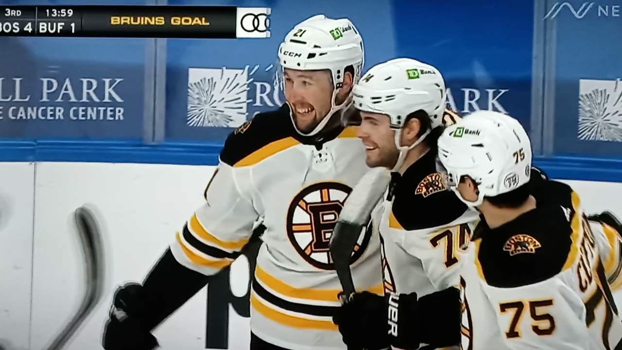 Coyle, Ullmark lead Bruins to 4-1 win over Sabres
