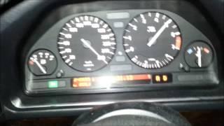 bmw 540i v8 vs beschleunigung acceleration autobahn bei vmax km h mph fliegt der keilriemen weg