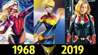 🌟 Капитан Марвел - Эволюция (1968 - 2019) ! Все Появления Кэрол Дэнверс !