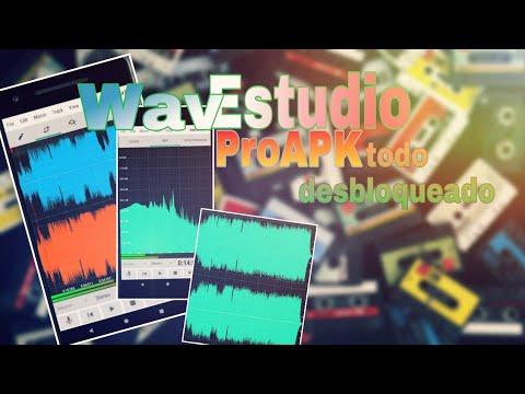 WavEstudio Apk Pro - todo desbloqueado