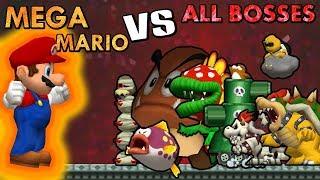 [TAS] Mega Mario VS All Bosses | HD 60FPS
