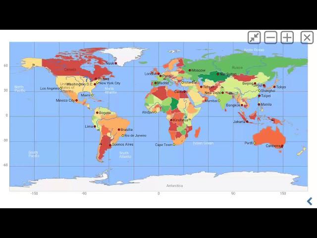 Cartina Mondiale Stati.Atlante Mondiale Mappa Del Mondo Mxgeo Pro App Educativo Per La Geografia