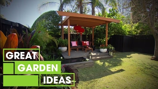 Jason and Adam build a Vietnamese-style pergola | Great Home Ideas