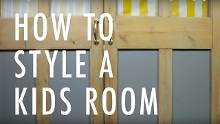 How to Design a Kids Bedroom by Sophie Robinson