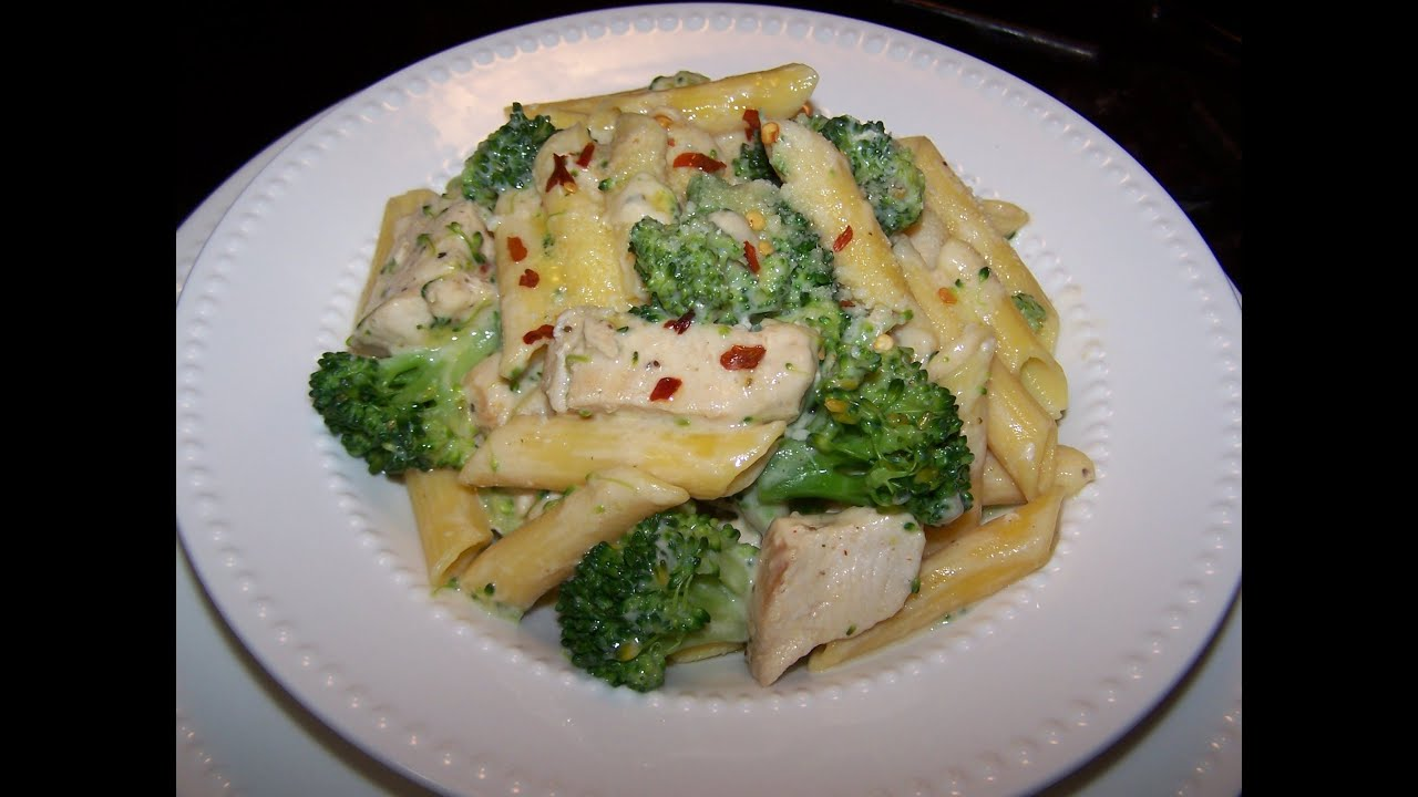 Creamy Chicken And Broccoli Pasta Recipe - Youtube-1274