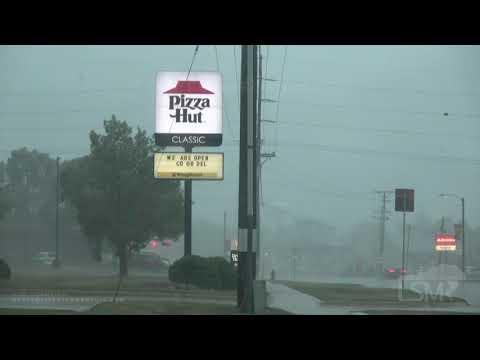 08-10-2020 Dewitt, Iowa - Extreme Derecho Winds \u0026 Damage