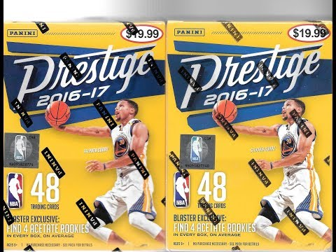 2016 17 Panini Prestige Basketball 2 Blaster Box Break #3