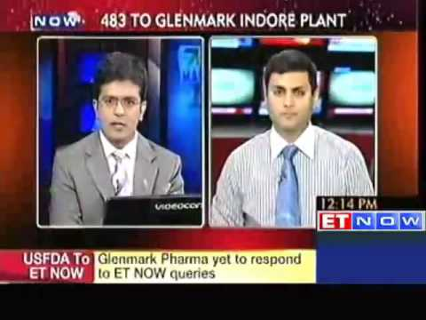 USFDA issues Form 483 to Glenmark's Indore plant