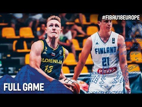 Finland v Slovenia - Full Game - FIBA U18 European Championship 2017