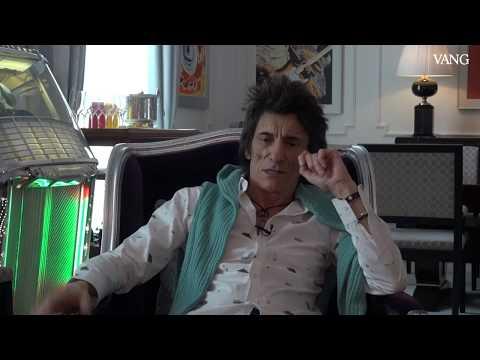 Ronnie Wood, The Rolling Stones, en Barcelona
