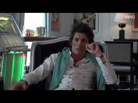 Ronnie Wood, The Rolling Stones, en Barcelona