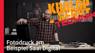 Fotodruck am Beispiel Saal Digital 📺📷 ON AIR TECHNIK 📷📺 Krolop&Gerst