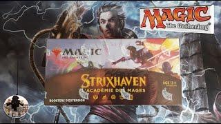Strixhaven : ouverture d'une boîte de 30 boosters d'extension @Magic: The Gathering