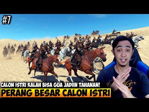 PERANG BESAR DENGAN CALON ISTRI DIA GUA AMPUNI - MOUNT AND BLADE 2 BANNERLORD INDONESIA - PART 7 - 동영상
