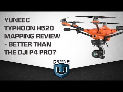 Yuneec Typhoon H520 Mapping Review - Better than the DJI P4 Pro?