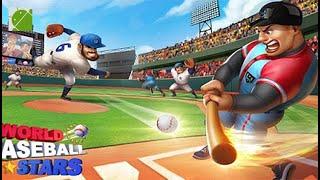 World BaseBall Stars - Android Gameplay FHD screenshot 2