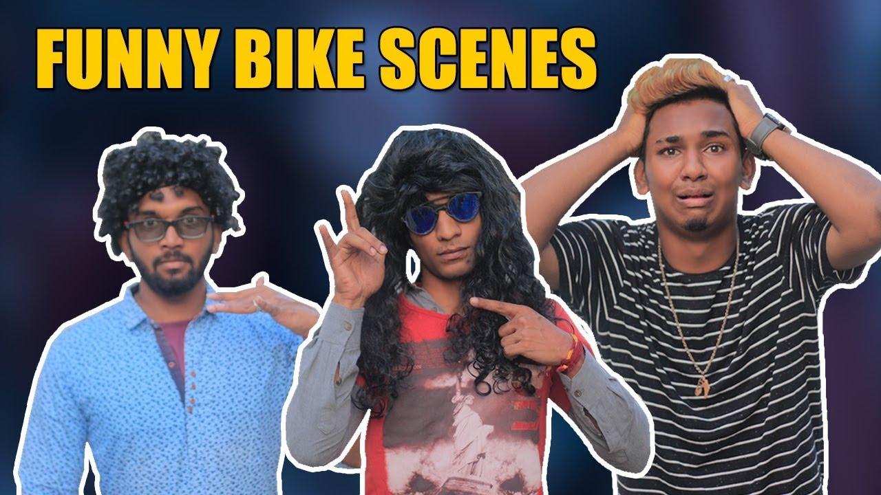 Funny Bike Scene ft. Jamal Gadu | Hyderabadi Comedy | Warangal Diaries