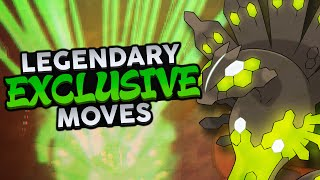 Top 10 Legendary Exclusive Moves - Woopsire
