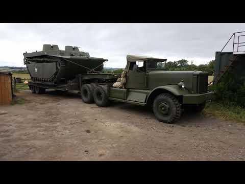 Diamond T 968 969 980 981 Convoy WW2 6x6 YWE Yorkshire Wartime Experience 75th anniversary
