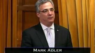 Mark Adler speaks about Canada Israel Friendship