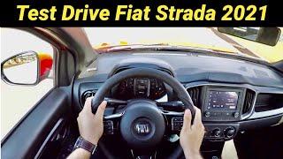 Fiat Strada 2021 - Test Drive POV - Aceleração - Estabilidade - Conforto - Consumo