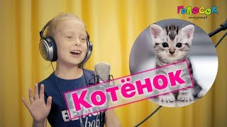 """Академия """"Голосок"""".  Тася Яськова - """"Котёнок"""" (2К видео)"""