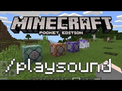 minecraft bedrock edition playsound command