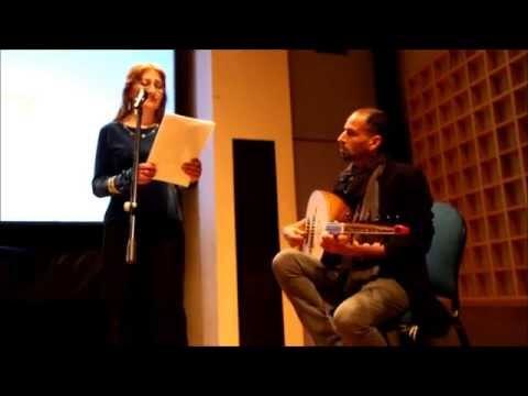 ALBA MALTA NORTH AFRICA  : Live OUD Andrew Alamango/Miriam Haber Endrick - Palestinian Poetry