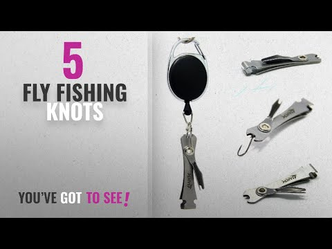 Top 10 Fly Fishing Knots [2018]: SAMSFX Fly Fishing Knot Tying Tool Knot Tyer And Nail Clippers