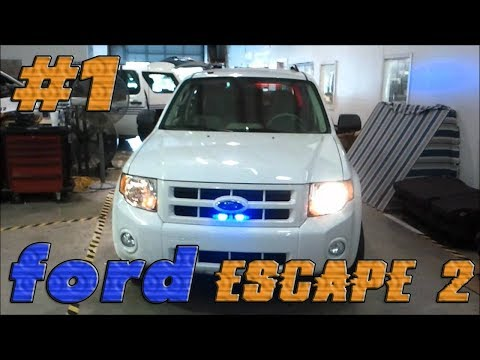 Ford escape 2 2008 года. Обзор #1.