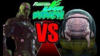 Mugen Fighting Jam Madness: Brainiac (DC Comics) vs. Krang (TMNT)