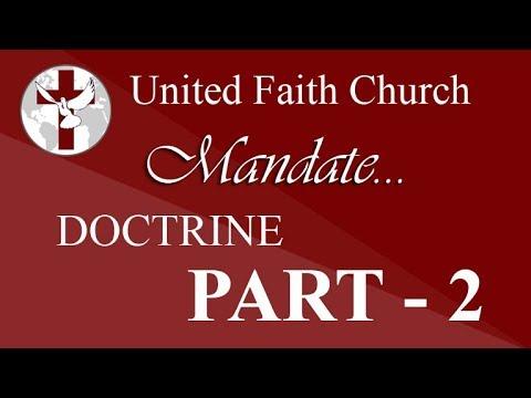 United Faith Church Barnegat | Doctrine - Part 2