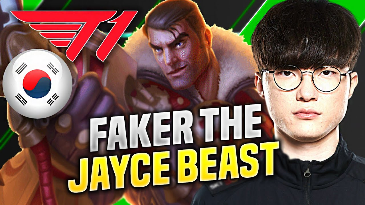 FAKER IS A BEAST WITH JAYCE! - T1 Faker Plays Jayce vs Irelia Top! | KR SoloQ Patch 10.19