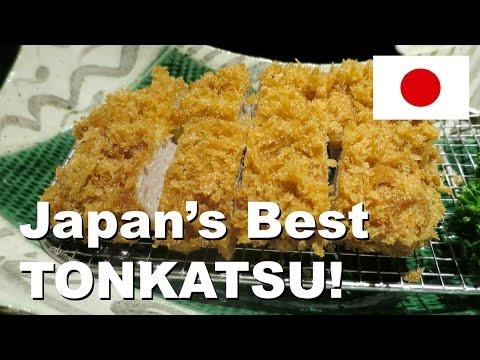 Highest Grade Tonkatsu Pork Cutlet - Tokyo, Japan