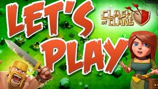 Let's Play Clash of Clans | Trolling Bases