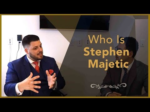 Real Estate Interview - Who Is Stephen Majetic - Financial Planner Perspective