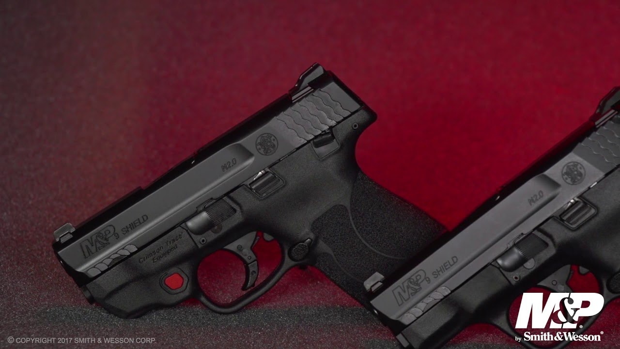 M&P M2 0 Shield with Integrated Crimson Trace Laser