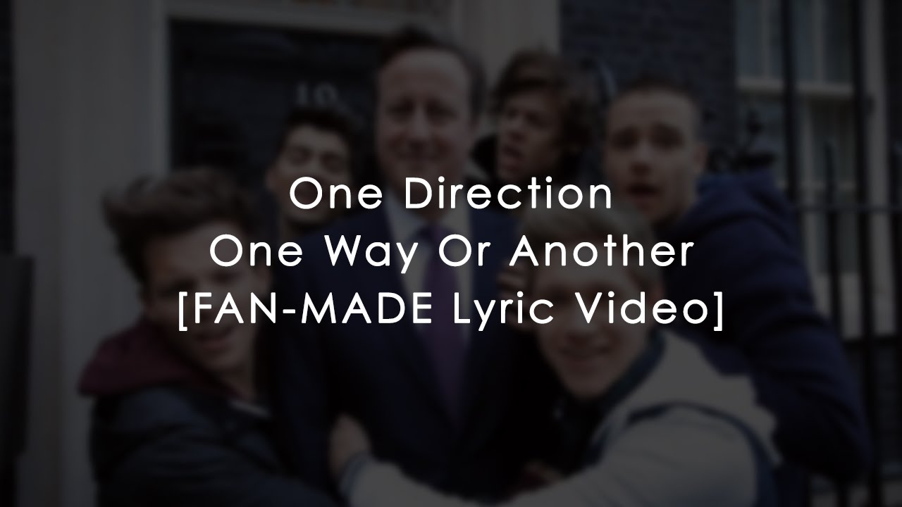 one direction one way or another ---read description-- one direction - one way or another (teenage kicks| comic relief 2013) one direction - one way or another (teenage kicks| comic relief 2.