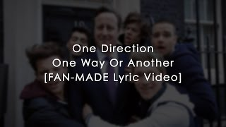 One Direction- One Way Or Another (Teenage Kicks) (Lyrics)