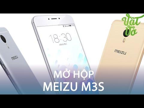 Vật Vờ| Mở hộp & trên tay Meizu M3s: smartphone có vân tay giá rẻ nhất