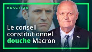 Bonne nouvelle ! Le conseil constitutionnel invalide une décision de Macron